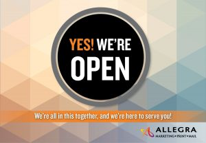 Allegra is open!