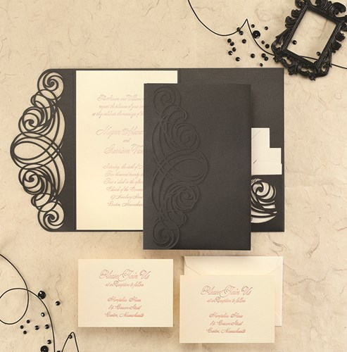 Elegant Invitations for Wedding, Anniversary & Special Occasion.