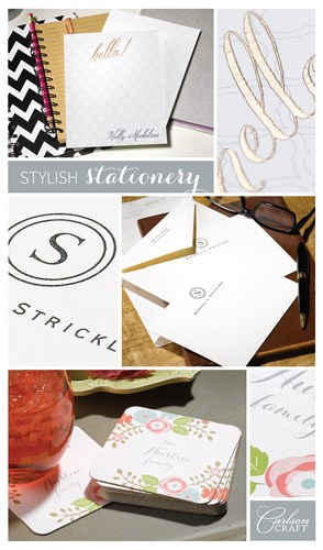Stylish Stationery for home or office.
