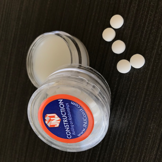 Promotional mints and lip balm