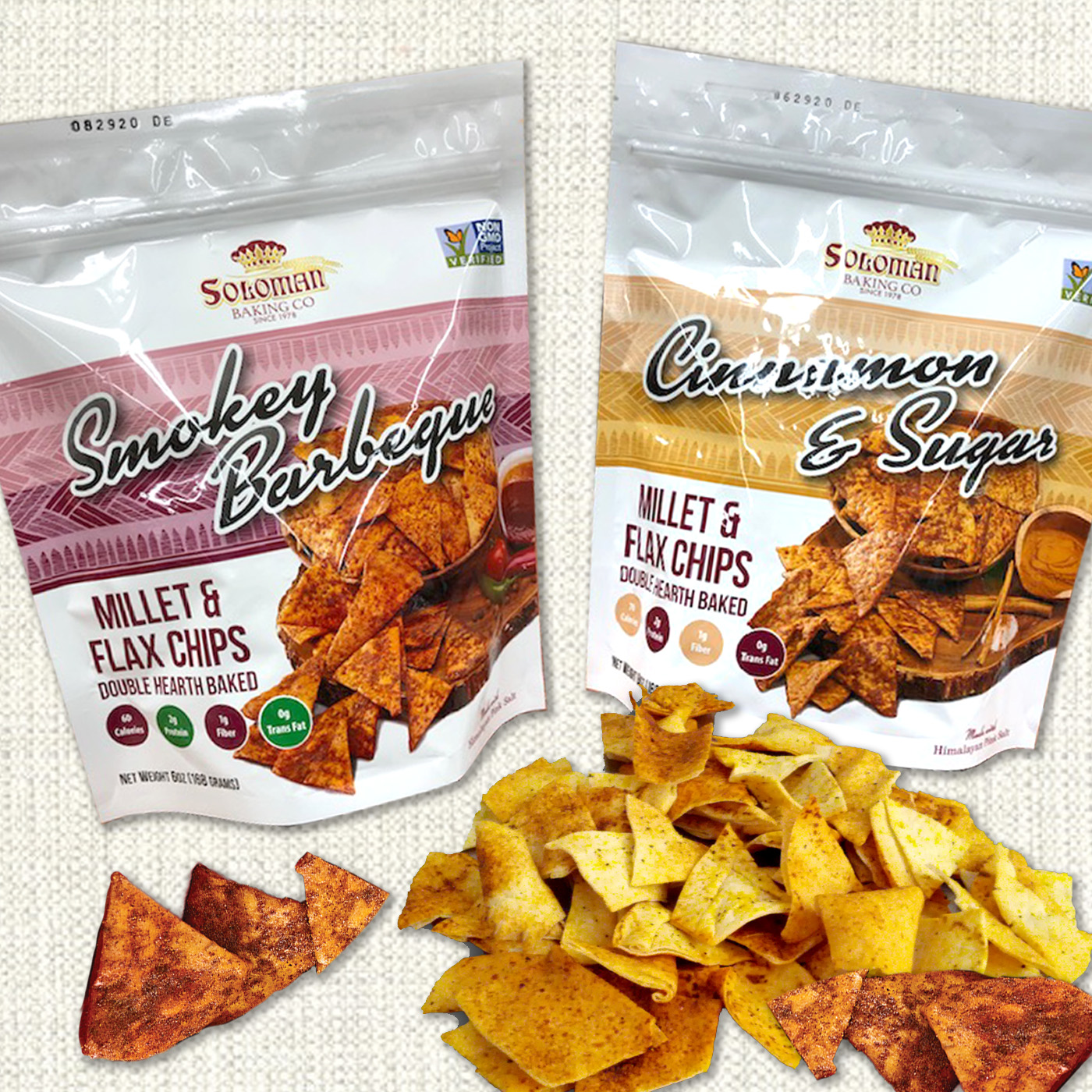 Flax chips packaging