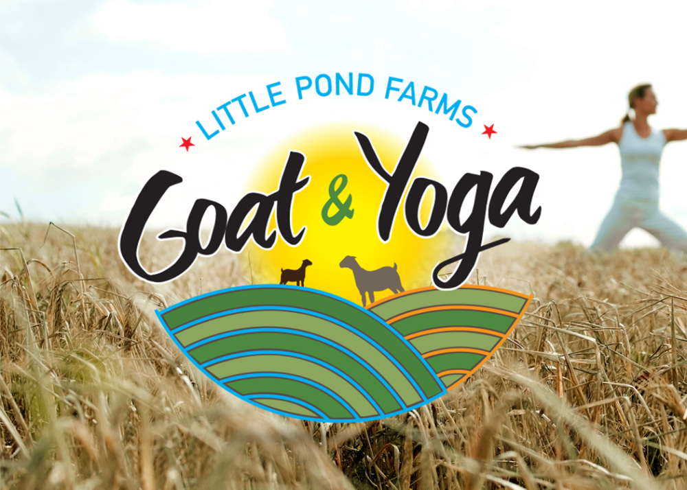Goat Yoga Logo Design