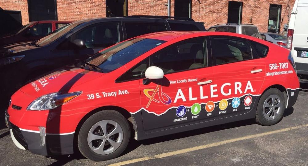Allegra Vehicle Wrap