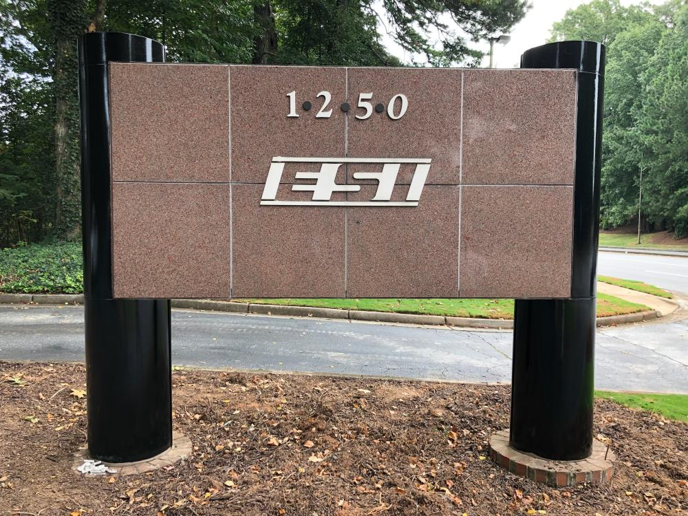 Before ESI Monument Sign