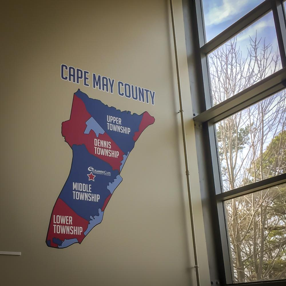 Atlantic Cape Community College - Wall Graphic
