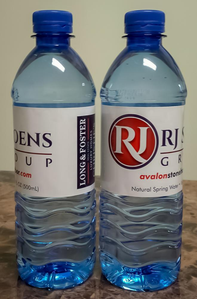 RJ Soens - Custom Labeled Bottled Water