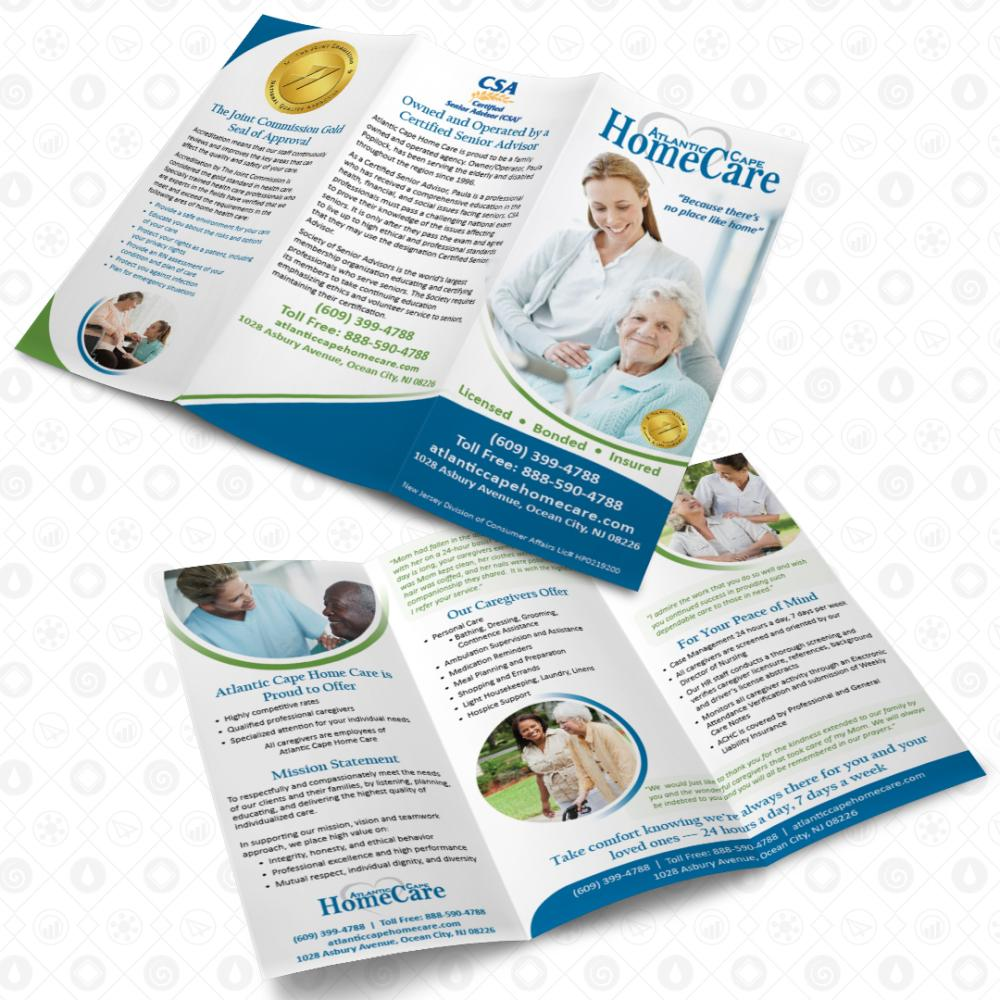 Atlantic Cape Home Care - Tri-Fold Brochure