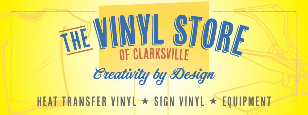 The Vinyl Store storefront sign